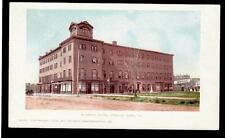 1902 Warwick Hotel building Newport News Virginia postcard