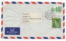 1992 CHINA Air Mail Cover SHANGHAI To BRAUNSCHWEIG GERMANY