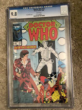 DOCTOR WHO #13 cgc 9.8 - Featuring The 4th Doctor - Marvel Comics 1985 Cybermen