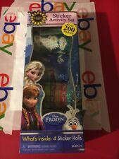 New Disney Frozen Sticker Activity Set 200+ Stickers