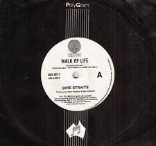 "DIRE STRAITS - WALK OF LIFE - 7"" 45 VINYL RECORD - 1985"