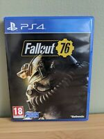 Fallout 76 Sony Playstation 4 PS4 Game Bethesda