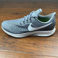 Men's Nike Air Zoom Pegasus 35 Gray Running Shoes Athletic 942854-005 Size 11.5