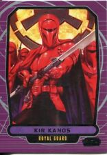 Star Wars Galactic Files Series 1 Base Card #216 Kir Kanos