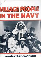 VILLAGE PEOPLE in the navy BELGIUM 12INCH 45 RPM 1979 EX