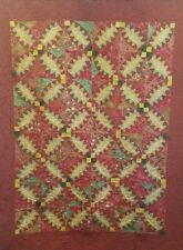 Zig-Zag Circles Twin Bed Quilt