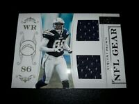 2011 Playoff National Treasures NFL Gear Trios 10/99 #35 Vincent Brown Card