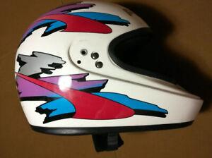 Vintage 1996 Bell Polaris Wedge SL  Large GR.1400 Snowmobile Helmet No visor