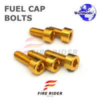 FRW Gold Fuel Cap Bolts Set For Suzuki GSX-S1000F 15-16 15 16
