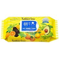 BCL Saborino Morning Care 3-in-1 Fruity Herb Face Mask Japan Moisture Cosmetics