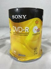 Sony 100DMR47SP DVD-R 16x 4.7GB Recordable Storage - 100 Pack