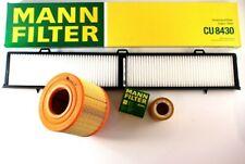 Mann Filter Service Kit Oil Air Cabin BMW E90 fits BMW 3 Series E90 325i 330i
