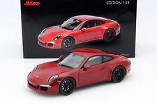 PORSCHE 911 ( 991 /I) Carrera GTS Coupé Rojo 1:18 Schuco