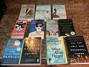 11 Bestselling books~Gillian Flynn~Liane Moriarty~Lisa Kleypas~Kristin Hannah+