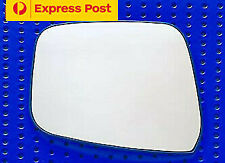 Left side mirror glass for NISSAN NAVARA D40 09/05-08/15 (Round Clips) SPAIN