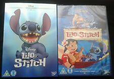 DISNEY DVD LILO AND STITCH WITH O-RING SLIPCOVER, NEW AND SEALED.