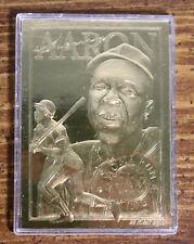 1996 Bleachers Baseball's Greatest Champions - HANK AARON 23 karat gold -Classic