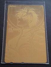 X CLAMP JAPANESE PHONECARD KAMUI GOLD - Carte téléphonique collector japonaise