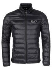 EA7 EMPORIO ARMANI MENS ULTRA LIGHTWEIGHT JACKET SLIM FIT BLACK UK SIZE SMALL