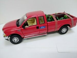 MODIFIED 1:25 Scale SPEC CAST  FORD F250 hearse with wooden coffin on leaves