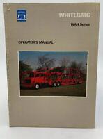 Whitegmc Volvo Owners Operators Manual White GMC WAH Series 1990 19-3101