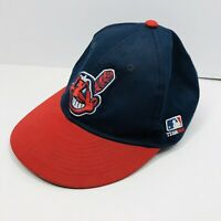 Cleveland Indians Chief Wahoo Embroidered MLB Baseball Hat Cap - Adjustable