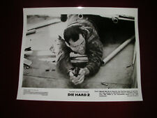 Movie Promotional Photograph/Die Hard 2 1990/Bruce Willis shooting