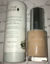 100% Pure Fruit Pigmented Hydrating Full Coverage Water Foundation *WHITE PEACH*