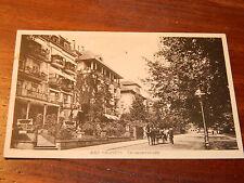 CPA CARTE POSTALE AK postkarte GERMANY BAD NAUHEIM Terrassenstrasse HEILBAD ww2