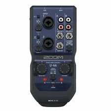ZOOM U-44 Handy Portable Recorder Audio Interface FREEE EMS SHIPPING