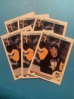 Six Mario Lemieux 1990-91 UPPER DECK  #59 Pittsburgh Penguins Mint Free Shipping