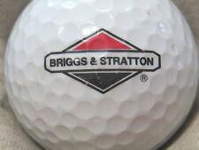 (1) BRIGGS & STRATTON ENGINES  LOGO GOLF BALL