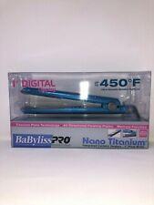 "Babyliss Pro Nano Titanium 1"" Inch Digital Display Straightener"