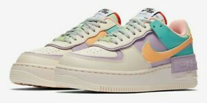Nike Air Force 1 Shadow Pale Ivory-Celestial Gold CI0919-101 Women's Size 9
