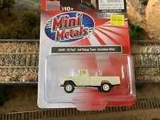 Ho Scale 1:87 Mini Metals '60 1960 Ford 4x4 pick up truck Corinthian White 30449