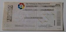 Ticket for collectors EC Valencia CF Bayern Munchen 1996 Spain Germany