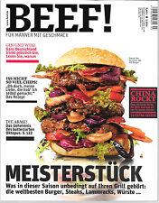BEEF! Meisterstück Heft Nr. 21 Ausgabe 3/ 2014 Neuwertig