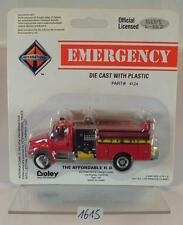 Boley 1/87 No. 4124 Emergency international Fire Engine pumper OVP #1615