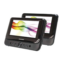 """Sylvania Sdvd8739 7"""" Dual Screen Portable Dvd Player"""