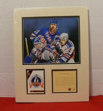 NEW YORK RANGERS 1994 STANLEY CUP Matted Print Lithograph Kelly Russell  NEW
