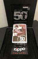 Zippo Elvis Presley 50th Anniversary Limited Edition Numbered 1935/2000
