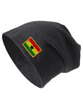 GHANA Embroidered Embroidery Slouch Slouchy Fashion Beanie Skull Hat Cap