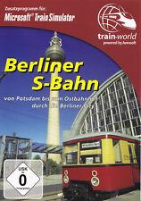 BERLINER S-BAHN - PC CD-ROM - Von Potsdam bis zum Ostbahnhof durch die Berl.City