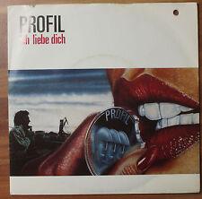 "Single 7"" PROFIL - Ich liebe dich + InForm 1982 TOP!"