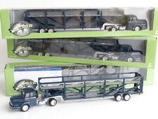 NOREV 550006 LOT DE 3 CAMIONS UNIC TRANSPORT D'AUTOS ECHELLE 1/87 EME