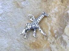 Sterling Silver GIRAFFE Charm/Pendant -  1319