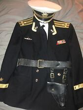Soviet Union Navy Captain 1st Rank Uniform USSR CCCP Communist Russia Cold War