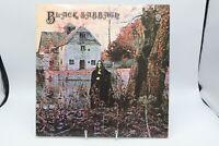 """BLACK SABBATH Self Titled -1970 Early 1st Press LP (WB 1871) """"Ossie"""" Misspell"""