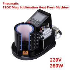 Ving Pneumatic 11OZ Mug Sublimation Heat Press Machine for Mugs Cup, 220V