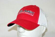 Pelagic High Performance Offshore Tuna Baseball Cap Mesh Adjustable Hat in Red